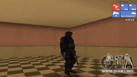 SWAT de piel para GTA San Andreas