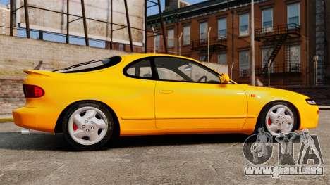 Toyota Celica ST185 GT4 para GTA 4 left