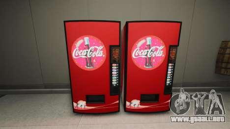 Máquinas expendedoras de Coca-Cola para GTA 4