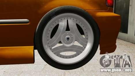 Honda Civic Gtaciyiz 2 para GTA 4 vista interior
