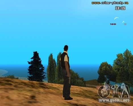 White Chrome Desert Eagle para GTA San Andreas segunda pantalla