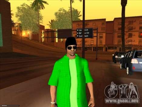 Nueva piel Groove st. para GTA San Andreas