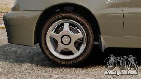 Daewoo Lanos Sport PL 2000 para GTA 4 vista hacia atrás