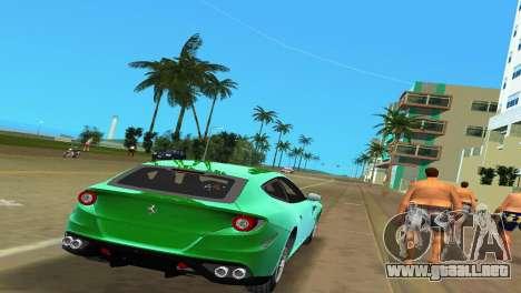 Ferrari FF 2011 para GTA Vice City vista posterior