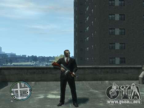 Thompson para GTA 4 quinta pantalla