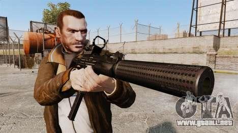 Táctico Uzi v2 para GTA 4 tercera pantalla