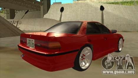 Toyota Chaser JZX81 Touge Style para la visión correcta GTA San Andreas