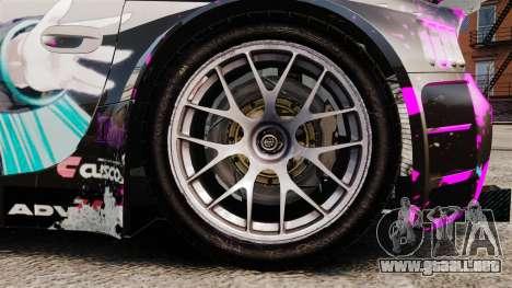 BMW Z4 M Coupe GT Miku para GTA 4 vista interior