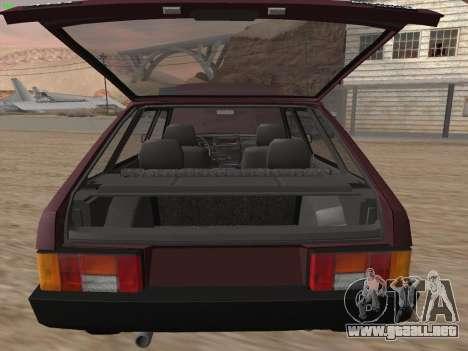 VAZ 2109 para las ruedas de GTA San Andreas