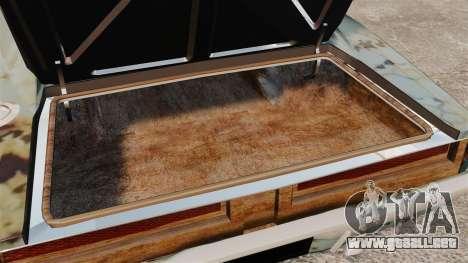 Dodge cargador RT 1969 oxidado v1.1 para GTA 4 vista lateral