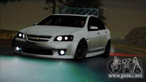 Chevrolet Omega para la visión correcta GTA San Andreas