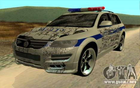 Volkswagen Touareg R50 para visión interna GTA San Andreas