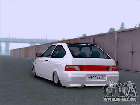 LADA 2112 bajo autorización para la visión correcta GTA San Andreas