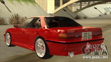 Toyota Chaser JZX81 Touge Style para GTA San Andreas vista hacia atrás