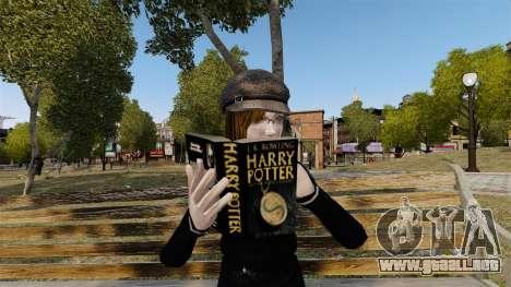 El libro de Harry Potter para GTA 4