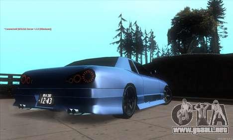 Elegy awesome D.edition para la visión correcta GTA San Andreas