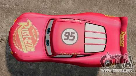 Rayo McQueen v1.2 para GTA 4 visión correcta
