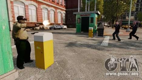 Guardias de la policía para GTA 4 tercera pantalla