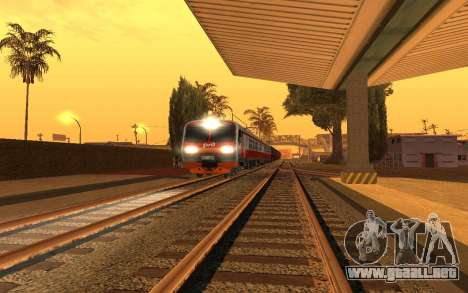 Train light para GTA San Andreas tercera pantalla