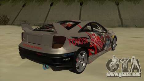 Toyota Celica ZZT231 Itasha para la visión correcta GTA San Andreas