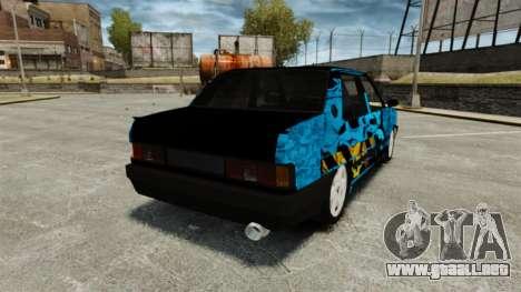 Tofas Dogan Kaplama para GTA 4 Vista posterior izquierda