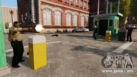 Guardias de la policía para GTA 4 adelante de pantalla