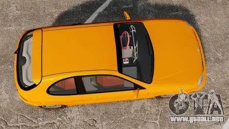 Daewoo Lanos Sport US 2001 para GTA 4 visión correcta