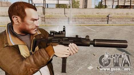 Táctico Uzi v2 para GTA 4