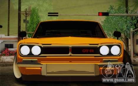 Nissan Skyline 2000GT-R Hoon para GTA San Andreas