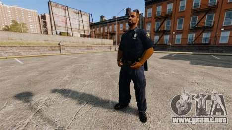 Un armario actualizado para la policía para GTA 4