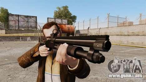 Escopeta táctica v2 para GTA 4 tercera pantalla