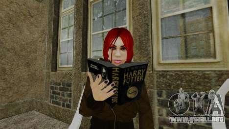 El libro de Harry Potter para GTA 4 tercera pantalla