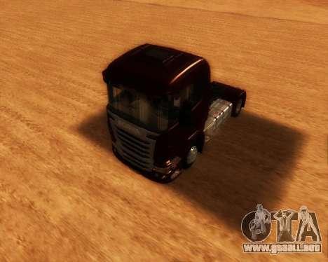 Scania R440 para la visión correcta GTA San Andreas
