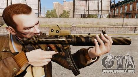 MP5SD subfusil ametrallador v3 para GTA 4