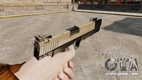 Pistola autocargable USP H & K v3 para GTA 4 segundos de pantalla