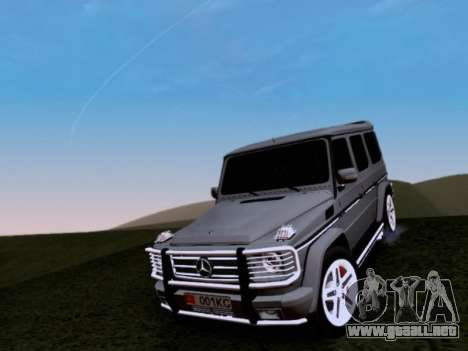 Mercedes-Benz G55 AMG para la vista superior GTA San Andreas