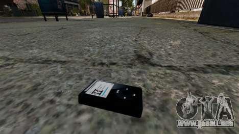Reproductor de MP3 actualizado para GTA 4 tercera pantalla
