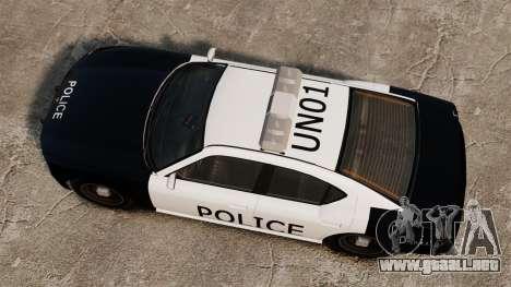 Buffalo policía LAPD v1 para GTA 4 visión correcta
