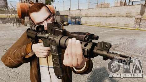 V3 M4 Tactical para GTA 4 tercera pantalla
