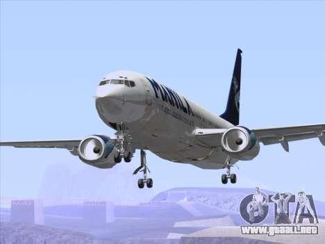 Boeing 737-800 Spirit of Manila Airlines para las ruedas de GTA San Andreas