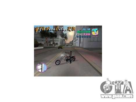 Harley Chopper para GTA Vice City