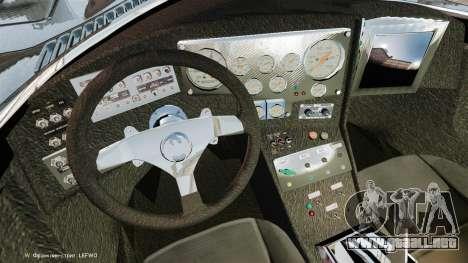 El guión del Batimóvil para GTA 4 adelante de pantalla