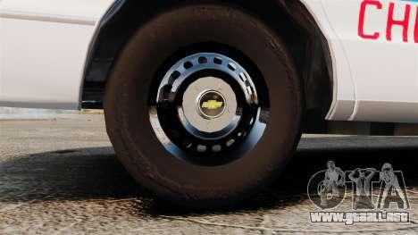Chevrolet Caprice 1994 [ELS] para GTA 4 vista hacia atrás