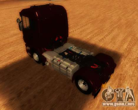 Scania R440 para GTA San Andreas left