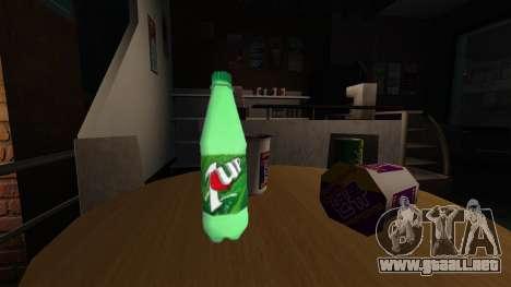 Beber de la botella de gaseosa 7UP para GTA 4