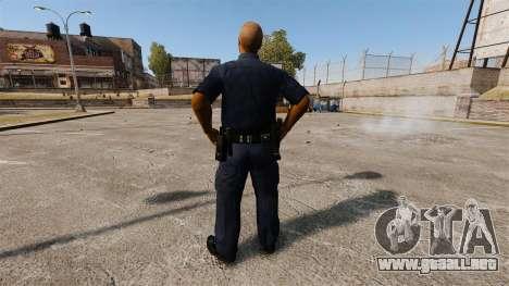 Un armario actualizado para la policía para GTA 4 tercera pantalla