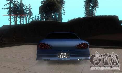 Elegy awesome D.edition para GTA San Andreas vista posterior izquierda