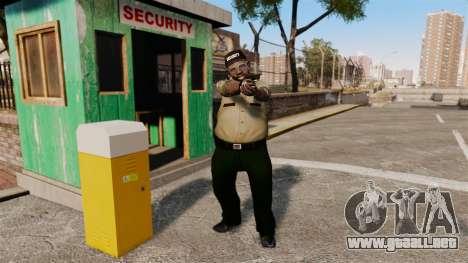 Guardias de la policía para GTA 4 segundos de pantalla