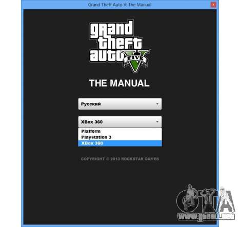 GTA 5 GTA V: El Manual: el mapa interactivo octavo captura de pantalla