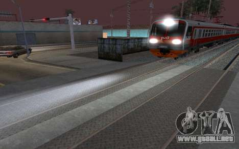 Train light para GTA San Andreas